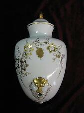 Plaue Thüringen von Schierholz Konsole Wandvase Weihwasser Vase Gold