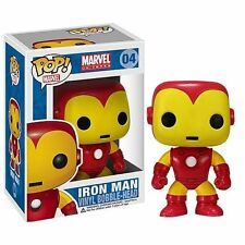 "MARVEL UNIVERS IRON-MAN 3.75"" FIGURINE POP EN VINYLE BOBBLE-HEAD FUKO"