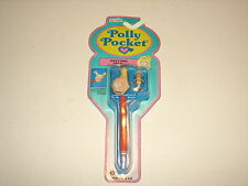 VTG Bluebird Polly Pocket Suzy's Snail Pen Pal Pencil w Figure New MIP 1992
