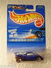 1997 HOT WHEELS BLUE STREAK SERIES No. 4/4 - SPEED BLASTER #576