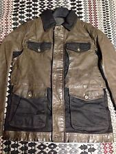 New Timberland Tenon Leather Field Jacket Men's M