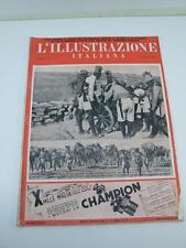 L'ILLUSTRAZIONE ITALIANA 1936 n 17 rivista vintage AOI Colonie Ascaro Ascari