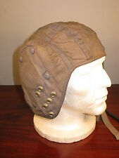 Post WW2 Vintage British Royal Air Force Pilot Flying Helmet