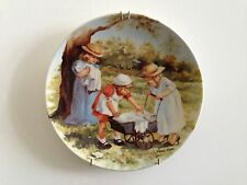 """""""Friends I Remember"""" Knowles Second 2nd Collector Plate 1984 Office Hours"""