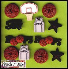 Balón De Baloncesto Chaleco neto Aros Sport Hombre Niño Novedad vestirla Craft Botones