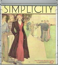 CD Picture Pack of Simplicity Fall 1930s Catalog Searchable Database of Patterns