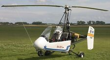 Twinstar Farrington Autogyro Helicopter Wood Model Replica Large Free Shipping