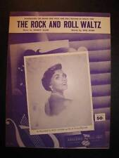 The Rock And Roll Waltz Sheet Music Vintage 1955 Kay Starr Shorty Allen RCA (O)