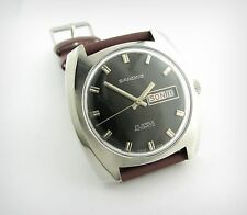 Vintage Watch...SANDOZ...Automatic...Day&Date...SSTeel...MINT Condition!!
