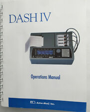 Astro-Med DASH IV Chart Recorder Operations Manual P/N 22834-054