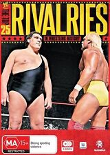 The Top 25 Rivalries In Wrestling History (3-Disc DVD) R4 NEW SEALED FREE POST!