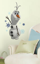 Disney FROZEN OLAF snowman wall stickers 25 decals snowflakes winter party decor