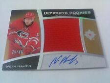 Noah Hanifin 2015-16 Ultimate Coll Rookies Silver Jersey Auto /49 ***See Notes