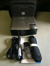 DELL 1800MP PORTABLE HD DLP PORTABLE PROJECTOR WORKS GREAT! NEW FACTORY LAMP!!