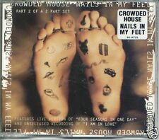 CROWDED HOUSE NAILS IN MY FEET + LIVE VERSION FOUR SEASONS IN ONE DAY CD SINGLE