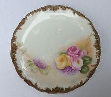 """AMAZING!!! Antique T & V Limoges France Hand Painted  Plate 12 3/4"""""""