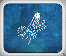 Baseball // Los Angeles Dodgers, Grunge, Blue // Mouse Pad [NEW!] 1
