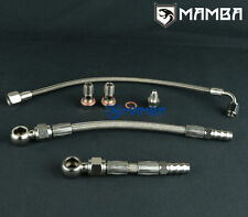 MAMBA Turbo Oil & Water line Kit For Subaru FA20T W/ Ball Bearing GT28R GT30R