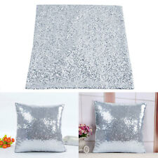 Sequins Sparkly Square Pillow Case Cover Sofa Cushion Lounge Bedroom Home Decor