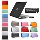 Rubberized Hard Shell Case Cover Keyboard For Macbook Air 13/11 Pro 13/15