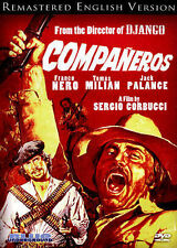 Companeros (English Version),Very Good DVD, Jack Palance, Franco Nero, Sergio Co