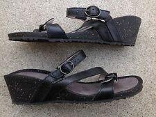 Teva Women's Ventura Wedge Modoc Rialto Slip On Sandals Size 9