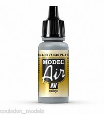 Vallejo Model Air Pale Blue Grey 71.046 - 17ml Acrylic Airbrush Ready Paint