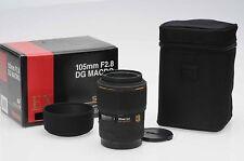 Sigma AF 105mm f2.8 EX DG Macro Lens 105/2.8 Canon EF                       #334