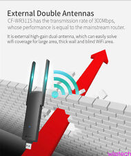 Wifi Range Extender Wireless Booster Repeater with Internet Network 300Mbps cy