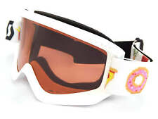 SCOTT - AGENT junior kids childrens 5-12yrs Ski Snow Goggles WHITE 239997