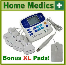 XFT-320A TENS MACHINE MASSAGER/ 8 + 4 LARGE PADS/ EXPRESS DELIVERY/E-BOOKLET
