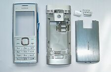Full silver Housing Fascia cover facia faceplate Case for Nokia X2 X2-00 silver