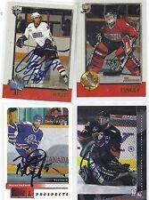 Brent Krahn Signed / Autographed Hockey Card Calgary Hitmen 2000
