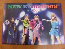 2NE1 2012 Global Tour Live New Evolution In Seoul DVD [OFFICIAL] POSTER K-POP