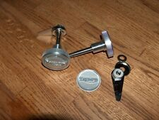 Triumph X75 Hurricane Seat Knob Set ALUMINUM BILLET and STAINLESS STEEL