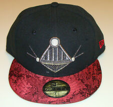 Villain Element New Era Cap Hat Fitted 7 3/4 Darth Vader 59Fifty Under Brim Logo