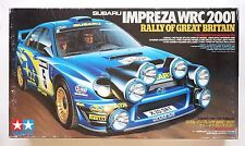 TAMIYA 24250 1/24 SUBARU Impreza WRC 2001 Rally of Great Britain *box damaged