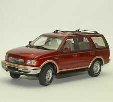 Ut rareza ford expedition 4x4 todoterreno en burdeos metalizado, 1:18, w012