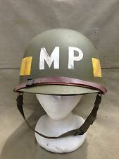 WWII/Korean War Era U.S. M1 Helmet - 25TH INFANTRY DIVISION MP!