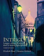 Intrigue: langue, culture et mystère dans le monde francophone (3rd Edition), Mo