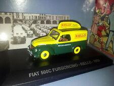 SERIE ITALIE  FIAT 500C  1959