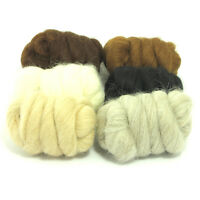 Baby Alpaca - Soft Felting and Spinning Wool Tops - Choose From 6 Shades