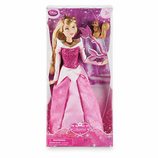 Disney Store Princess Aurora - Sleeping Beauty Classic Doll w/Squirrel - 12''