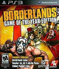 *NEW* Borderlands GOTY - PS3