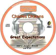 Great Expectations - Charles Dickens MP3 Audio Book 59  episodes/chapters on CD