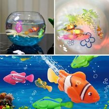 Activated Battery Powered Robo Fish Toy Childen Kids Robotic Gift Present