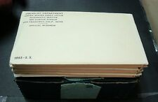 1965- NEW SEALED SPECIAL MINT SETS (SMS) NEW SETS IN SEALED ENVELOPE MUST SEE!