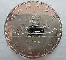 1975 CANADA VOYAGEUR DOLLAR PROOF-LIKE COIN