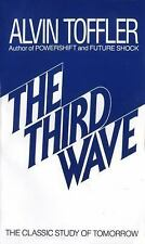 The Third Wave-The Classic Study of Tomorrow by Alvin Toffler (1984, PB) FF1177