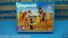 Playmobil 4247 Egyptian series robbers/ camels mint  in Box MIBNO New toy